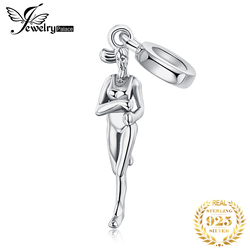 JewelryPalace Runner 925 Sterling Silver Beads Charms Silver 925 Original For Bracelet Silver 925 original Beads Jewelry Making