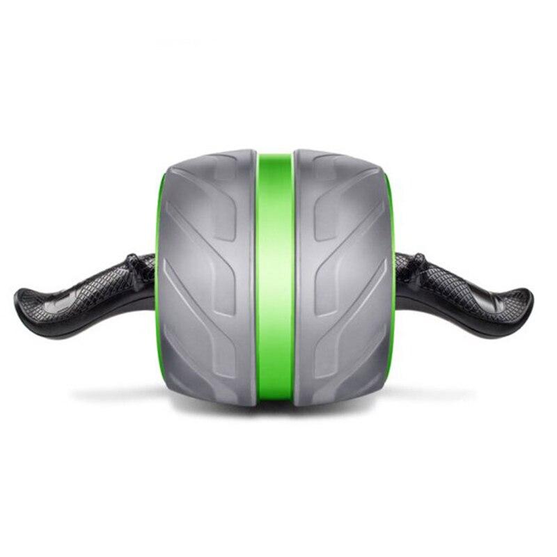 Doble rueda gran rueda Abdominal músculo equipo de gimnasia para el hogar Ejercicio de tirar ruedas abdominales pérdida de peso 35 - 2