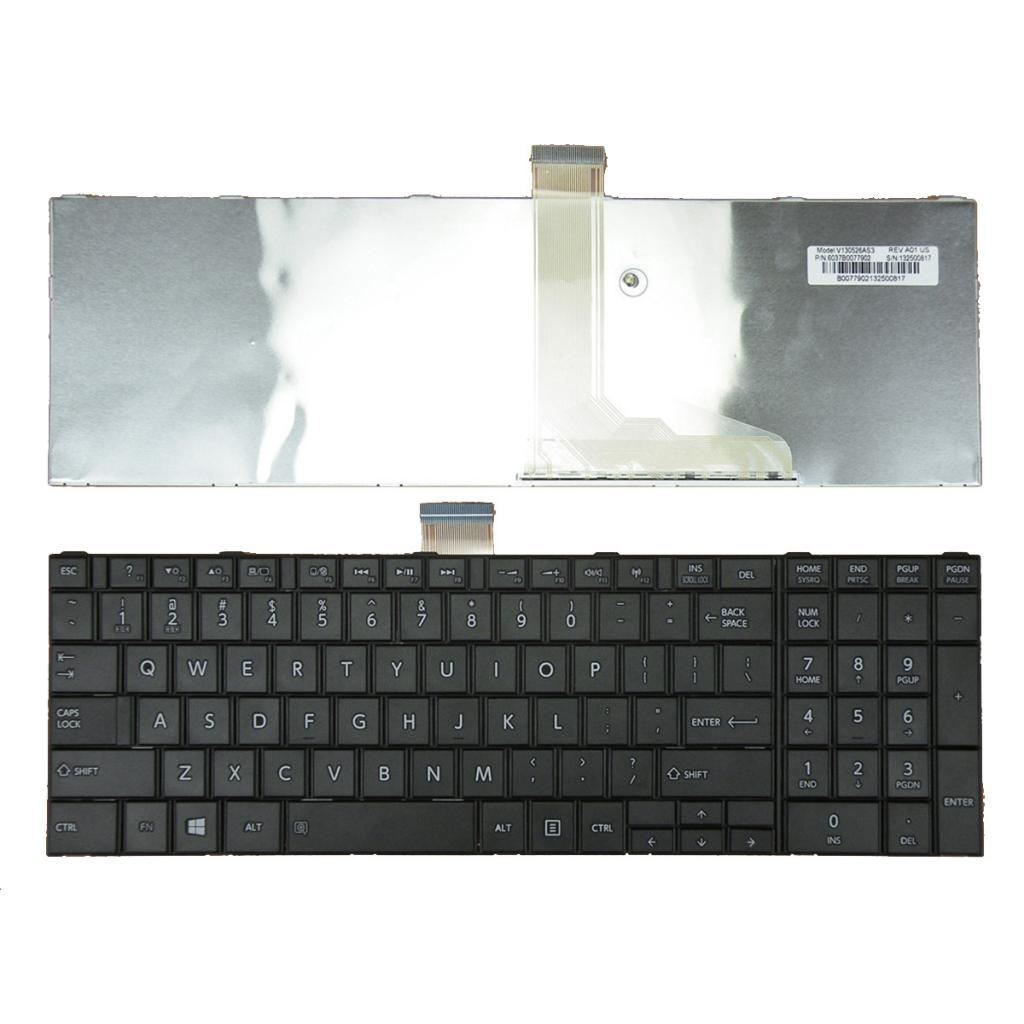 Toshiba Satellite C850 C850D Pro L955 keyboard laptop keypad English keys