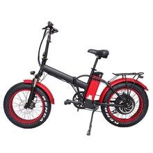 Newest production 20 inch foldable electric bicycle, Rear hub motor 48v 1000w el