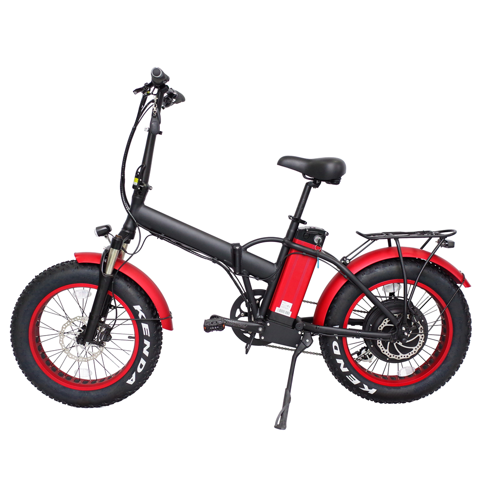 Newest production 20 inch foldable electric bicycle, Rear hub motor 48v 1000w electric bike bicicleta
