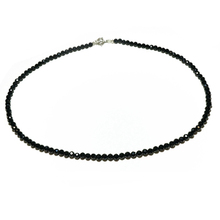 Lily Jewelry Shining Choker Necklace Black Spinel 925 sterling silver Fashion Bohemian Hawaii Clavicle Necklace Dropshipping