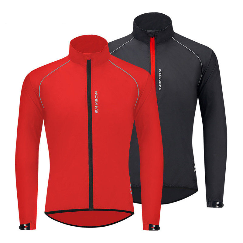 Mountain Bike Mountaineering Riding Windbreaker Water-repellent Skin Windbreaker Windproof Long-sleeved Top