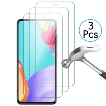 Защитное стекло на экран 3 листа для Samsung Galaxy A52 5G A51 A50 A50S A 52 SamsungA52 GalaxyA52, прозрачный чехол для Sklo|Бамперы|   | АлиЭкспресс