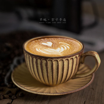 Taza De café Vintage japonesa hecha a mano De alta calidad taza...