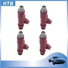 Nueva boquilla de inyector de combustible de alta calidad 4 Uds 23250-97401 para Toyota Avanza F601RM K3VE 1.3L Daihatsu Terios Motor de coche 23209-97401