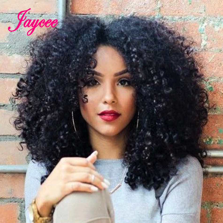 Jaycee Malaysian Curly Hair With Closure Wet And Wavy Human Hair Bundles With Closure Curly Malaysian Kinky Curly Hair