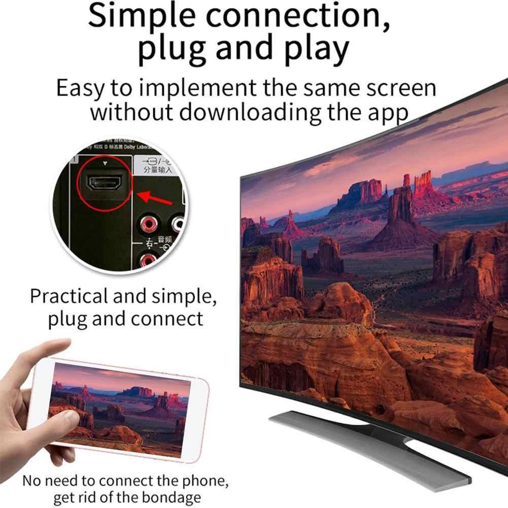 G6 TV Stick 2.4G Hz Video Wifi Tampilan HD Layar Mirroring TV Dongle Nirkabel Receiver Untuk Google Chromecast 2