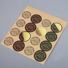 160 шт/лот корейские винтажные многофункциональные круглые наклейки