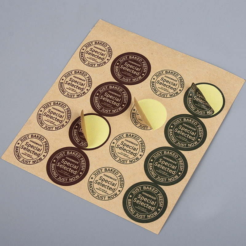 160PCS/Lot  Korea Vintage DIY Multifunction Round Seal Sticker With 'Special Select Retro Gift Sticker & Label