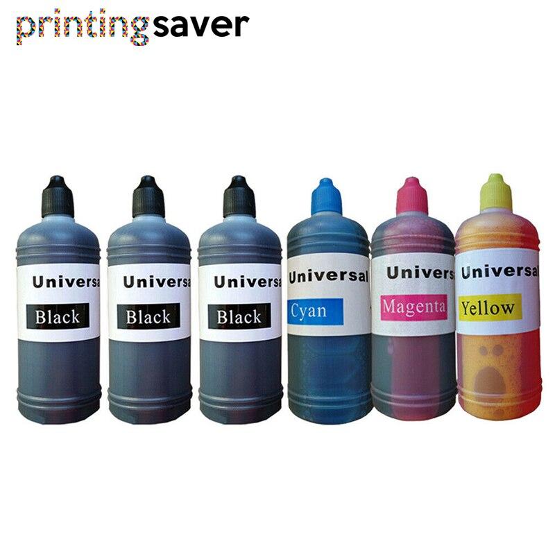 6x пополнения чернил комплект Наборы для HP655 HP655 655XL HP655XL для Deskjetjet 3525 4615 4625 5525 многоразового струйный принтер с СНПЧ 100 мл