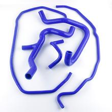 Coolant-Hose-Kit Ford-Focus-Mk2-St-St225 Radiator Pressure-Temperature Silicone Car High-Performance