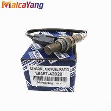 Oksijen sensörü 89467 42020 8946742020 ön sağ hava yakıt oranı O2 sensörü araba Styling parçası Toyota için Fit RAV4 2001 2003