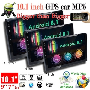 7/9/10 inch Touch Screen Android 8.1 2Din Car Radio Multimedia MP5 Video Player DVD Player Universal Autoradio GPS Navi FM Wifi