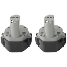 2X14.4 V Batteria per Makita 1433 1434 1435 1435F 14.4 Volt 3.0Ah