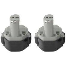 2X14,4 V Батарея для Makita 1433 1434 1435 1435F 14,4 вольт 3.0Ah