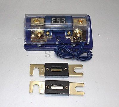 Gratuit 2PC 300A ANL numérique platine ANL DIST bloc 0-4 jauge porte-fusible SKFH061G