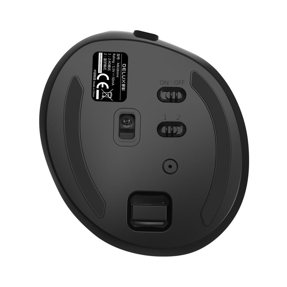 bluetooth modo duplo vertical mouse combo