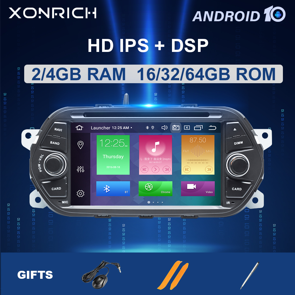 IPS DSP 64GB <font><b>1Din</b></font> Android 10 <font><b>Car</b></font> Radio DVD For Fiat Tipo Aegea Egea 2015 2016 2017 Auto <font><b>multimedia</b></font> <font><b>player</b></font> GPS Naviagtion Stereo image
