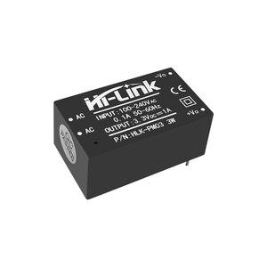 Image 2 - شحن مجاني 10 قطعة/الوحدة HLK PM03 AC DC 220 فولت إلى 3.3 فولت تنحى باك وحدة امدادات الطاقة الذكية المنزلية تحويل محول