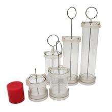 Цилиндрическая форма для свечей ручной работы, сырье, восковые формы, сделай сам, модель для изготовления свечей, ремесло 88