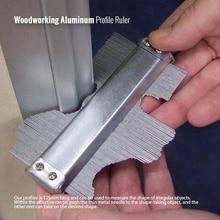 Regla de perfil de aluminio para carpintería