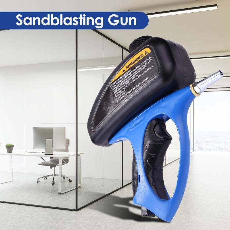 Gravity Type Blasting Spray Paint Gun Sandblaster Spray Tools Sandblasting Gun Dedicated To All Kinds Of Light Small Metals