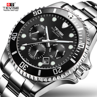 Tevise Automatic Mechanical Watch Men Sports Watches Luxury Brand Waterproof Diving Wristwatches Relogio Masculino Gift box