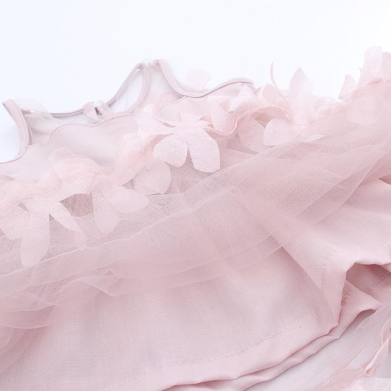 H9e54a519a76344349703c0d05a61f7eb0 Girls Dress 2018 Summer Explosion Solid Color Denim Dress Cartoon Polka Dot Bow Cartoon Bunny Satchel Korean Baby Cute Dress
