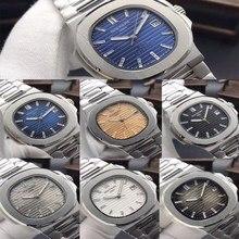 Patek- Philippe- New Automatic Mechanical Men Watch Silver B