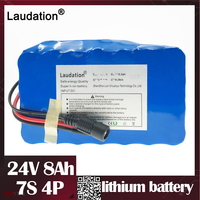 24v lithium battery pack 24V Batteria Pack with 15A BMS Batterie Pack for 250W 350W  Electric Motor Kit Electric Power laudation