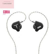 Tanchji – écouteurs intra-auriculaires Cora, oreillettes hi-fi dynamiques, musique basse lourde, bleu oxygène s2 T2 KING T4 S7 ZSX X1 No.3 DT6