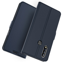 For Oukitel C16 C17 Pro Case PU Leather Flip Stand Wallet Full Body Pocket Cover with Card Holders