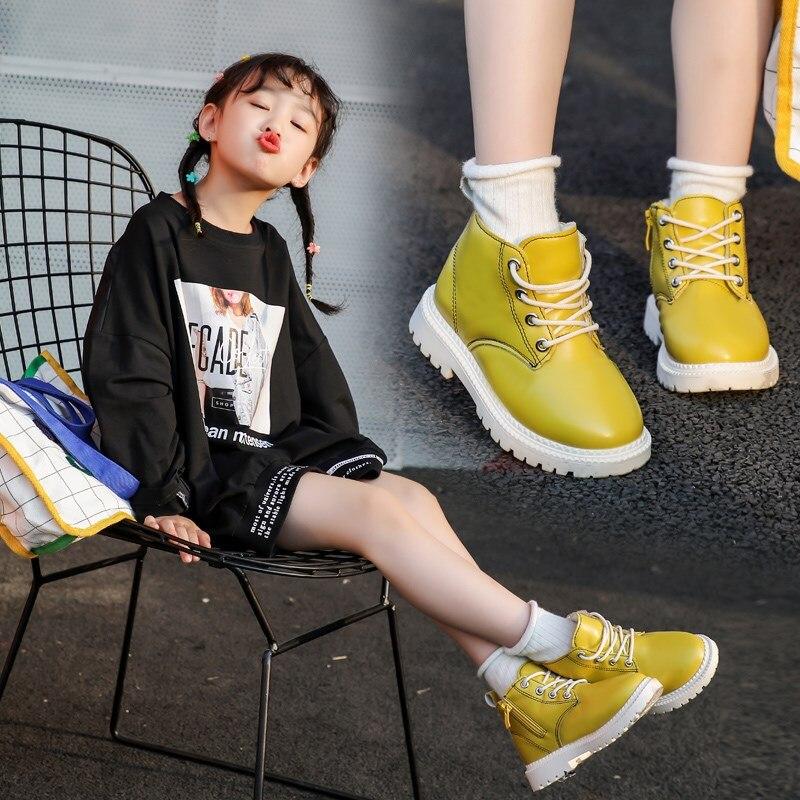 Girls Casual Hollow Boots Chirldren/'s Winter Ankle Booties Princess Zipper Shoes