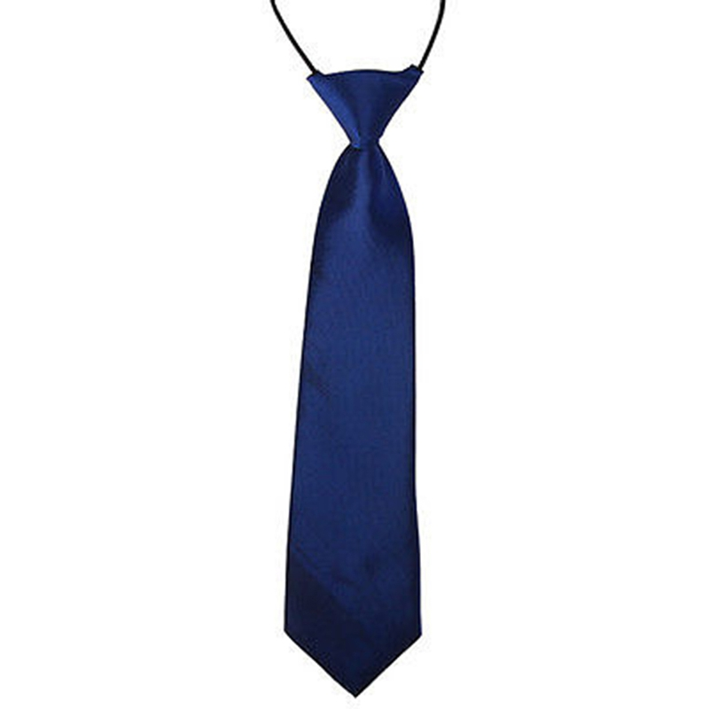 Kids Baby Boy Classic 26 Solid Color Adjustable Elastic Bowtie Children Neck Tie DXAD