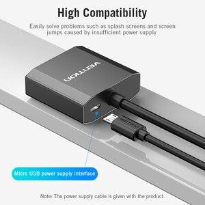 Image 4 - Vention DVI to VGA 어댑터 Full HD 1080P 24 + 1 25Pin Male to 15Pin Female 케이블 컨버터 모니터 TV PC DVI D VGA 어댑터