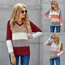 Новинка 2020 свитер в евро американском стиле осенне зимний