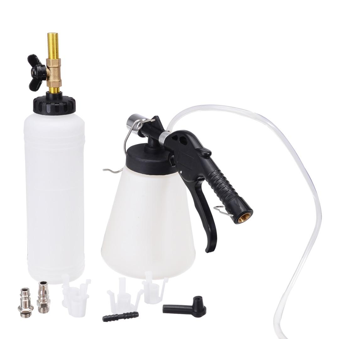 Car Brake Bleeder Bleeding Fluid Change Kit Air Pneumatic Garage Vacuum Tool Set 90-120PSI Brake Fluid Change Car Accessories