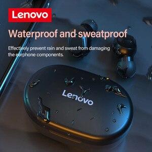 Image 3 - Lenovo – écouteurs sans fil Bluetooth à commande tactile, oreillettes de jeu, de Sport, de réduction du bruit, LED, étanches, XT91