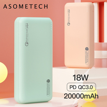 Power-Bank 20000mah Portable Charger External-Battery Usb-C Type-C Quick-Charge Fast-Charging