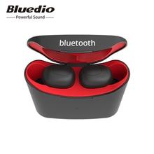 Bluedio T elf bluetooth אוזניות TWS אוזניות Bluetooth 5.0 ספורט אוזניות אלחוטי אוזניות עם טעינת תיבת ספינה מרוסיה