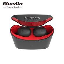 Bluedio t elf auricular bluetooth TWS auriculares Bluetooth 5,0 auriculares deportivos inalámbricos con caja de carga envío desde Rusia