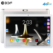10.1 Inch Octa Core New Original Tablet Pc Android 9.0 Google Play 3G 4G LTE Phone Call GPS Bluetooth WiFi Tablets 2.5D Screen