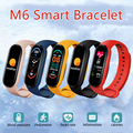 Смарт-браслет для Xiaomi M6, фитнес-трекер, пульсометр, тонометр, 5 цветов