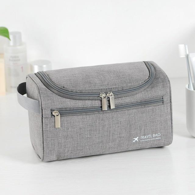 UOSC Men Hanging Cosmetic Bag Business Makeup Case Women Travel Make Up Zipper Organizer Storage Pouch Toiletry Wash Bath Kit