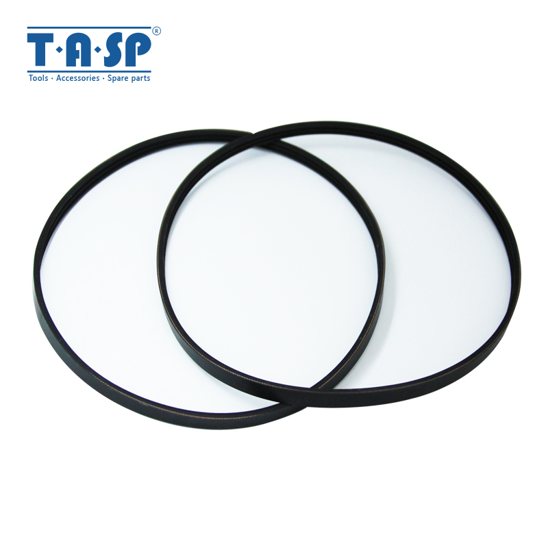 TASP 2pcs 3 Ribbed Rubber Drive Belt 3PJ605 Replacement V-Belt For Thicknesser Planer Einhell TH-SP-204 W588 ERBAUER ERB052BTE
