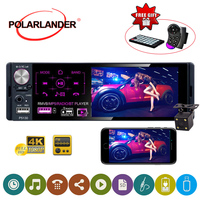 1 din car radio 7 HD Audio Stereo Multimedia Player Bluetooth MP5 1Din Autoradio Touch Screen AM FM Radio RDS