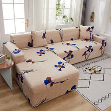 Цветок чехлов эластичный диван крышка для Гостиная чехол дивана