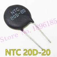 5 pçs/lote 20D-20 20D20 NTC NTC Termistor Resistor Resistor Térmica
