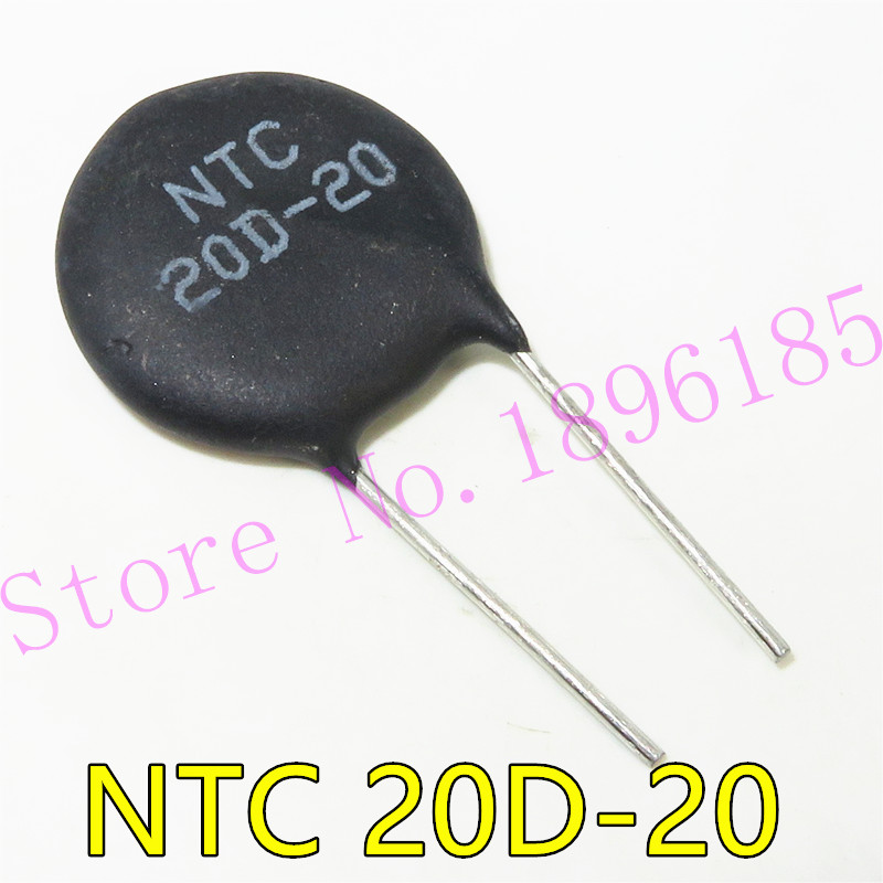 5PCS/LOT NTC Thermistor Resistor NTC 20D-20 20D20 Thermal Resistor